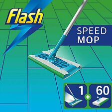 Flash Speedmop Starter Kit All-in-One Speed mop Cleaning mop Kit with 60 Wipes