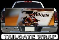 T284 CAPTAIN MORGAN Tailgate Wrap Decal Sticker Vinyl Graphic Bed Cover