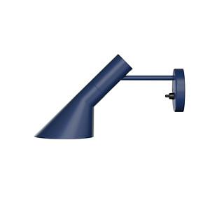Louis Poulsen AJ Wall Lamp Arne Jacobsen Genuine Midnight Blue Wall Sconce