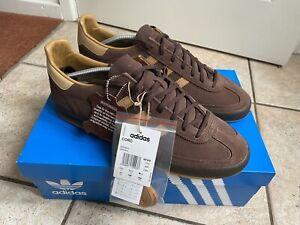 Adidas Originals CORD Retro Shoes in Dark Brown - Rare Size UK 11.5 (EU 46 2/3)