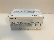 "Sony VAIO VGF-CP1 Digital Photo Frame 7"" Display Wi-Fi No Remote"