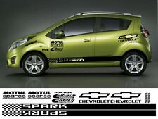 CHEVROLET SPARK KIT x16pc GRAPHICS STICKERS CHEVY SPARK AVEO CRUZE