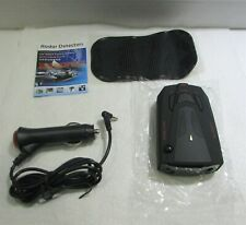 Radar Detector Voice Alert & Car Speed Alarm System with 360 Degree Detection