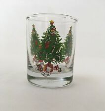 Single Shot Glass Christmas Tree Glasses Drinking Glass Cup Holiday Anchor