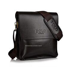 Fashion Men's Genuine Leather Shoulder Bag Messanger Bag Casual M157Z Brown