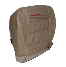 2002 Ford F150 Lariat DRIVER Bottom Replacement Leather Seat Cover - TAN