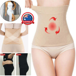 Fat Burner Sauna Tummy Tuck Belt Body Shaper Girdles Belly Slim Waist Trainer