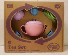 Green Toys 17 Piece Tea Set! Brand New!