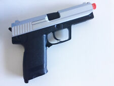 Airsoft Gas Pistol UG-161 Action Slide Handgun w/ 6mm BBs NEW in Box Two Tone