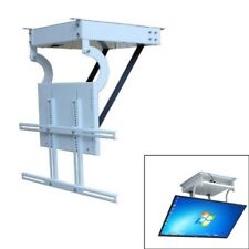 32-70inch LCD TV Ceiling Rack NEW Bracket Electric Remote Control Lift Turner