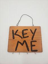 Awesome Wooden Key Me Key Hanger