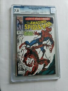 The Amazing Spider-Man #361 CGC 1st Appearance of Carnage Marvel Comics 1992