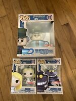 Funko Pop! Disneyland 65th Mad Hatter, Alice & Cheshire Cat Set Target Mint