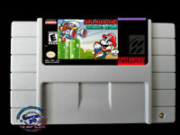 Super Mario Land 3: Tatanga's Return SNES Video game  USA Version