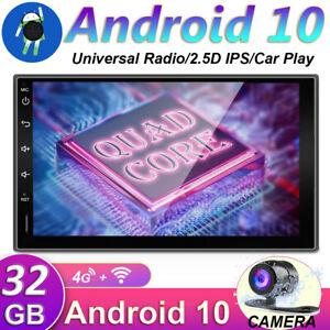 "7""Android 10 Car Stereo 2DIN GPS Head unit Navi MP5 FM Touch Screen WIFI USB BT"