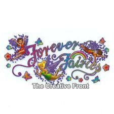 Forever Fairies & Friends - Iron On Glitter T-Shirt Heat Transfer -NEW