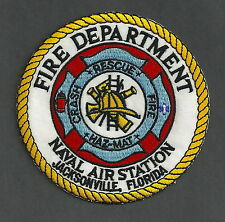 JACKSONVILLE NAVAL AIR STATION FLORIDA FIRE RESCUE PATCH