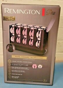 Remington PRO PEARL CERAMIC Curlers HOT ROLLERS -Luxury Edition NEW