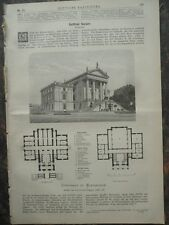 1880 Semper Stadthaus zu Winterthur Braunschweig Heinrich der Löwe Szegedin