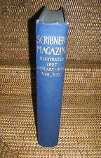 Scribner's Magazine Volume XXI January - June 1897 Howells, Harding, London