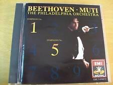 BEETHOVEN SINFONIA 5&1 PHILADELPHIA ORCHESTRA MUTI CD