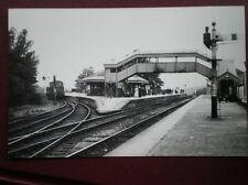 PHOTO  GWR YELVERTON RAILWAY STATION UP DIRECTION
