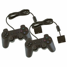 Coppia di Controllers con Cavo per Sony PlayStation 2 - Neri (7426767219289)