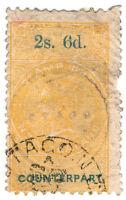 (I.B) New Zealand Revenue : Counterpart 2/6d (Otago)