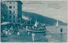 CARTOLINA d'Epoca SAVONA - Alassio 1917