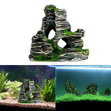 Mountain View Aquarium Hiding Rockery Cave Tree Fish Tank Ornament Decoration
