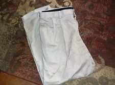 Dockers Khaki Beige Men 38x30 Relaxed Fit Pleated, Cuffed Pants