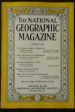 National Geographic magazine August 1952 US Capital Citadel of Democracy, Canada