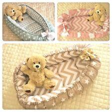 Toddler Nest Bed, Toddler Size Babynest, Organic Baby Nest, Double-sided