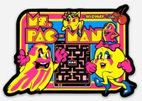 Atari Midway Ms.Pac-Man Custom MAGNET for Fridge Toolbox Ms.Pac Man Classic Game