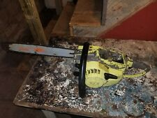Vintage Pioneer 1074 Chainsaw(runs but missing air filter cover)