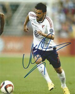 New York City FC All Star David Villa Autographed Signed 8x10 MLS Photo COA A