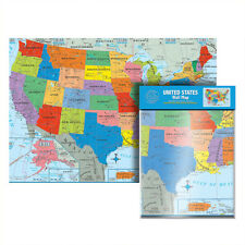 US Untied States USA MAP Poster Size Wall Large MAP