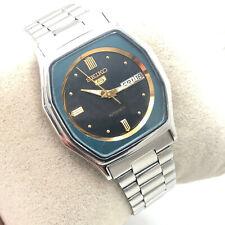 Vintage Men's Seiko 5 6309-583A 34mm Automatic D/D Japan Made Wrist Watch B1420