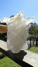 "17"" GIANT CRYSTAL LEMURIAN QUARTZ CLUSTER 30 LBS - HIGH SELECTED FROM A BIG LOT"