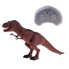 Remote Control Walking Roars Dinosaur Toy for Kids with Lights & Sounds T-Rex