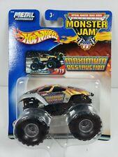 Hot Wheels Monster Jam Maximum Destruction #19 2002 - New, D1