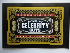 """Collective card """"Celebrity Cuts"""" Open item"""