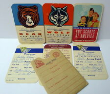 Boy Scouts Official Membership and Rank Cards BATON ROUGE LA Vintage 1959