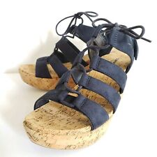453059b8779 Cork Lace Up Sandals for Women for sale | eBay