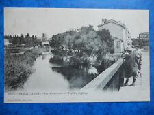 SAINT-RAPHAEL  :  La Garonne et Vieille Eglise.....Précurseur.