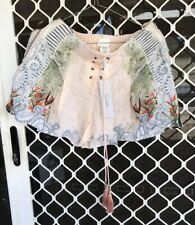 Camilla Beach Shack Shorts Size Small 1 $4 EXPRESS Franks High Rise Lace Up New