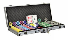 Dilego Pokerkoffer 500 Laser Pokerchips Komplett Set