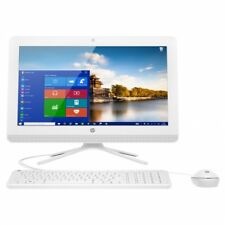 "Pc de sobremesa HP 20-c000ns 19.5"" E2-7110 1 TB Windows 10 blanco"