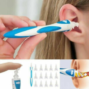 Ear Wax Removal Tool Ear Wax Cleaner Q-Grips Ear Wax Remover With 16 Tips 17pcs