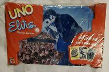 Elvis Presley Collectable Special Edition UNO Card Game NIB Storage Tin Sealed